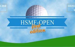Aankondiging golftoernooi